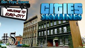 European Style Houses Cities Skylines European Themed City 5 Moded Euro Style