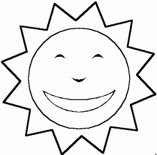 sun coloring pages interesting free online rainbpw sun colouring