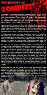 flesh eating zombie spirit halloween the history of zombies learnenglish teens british council