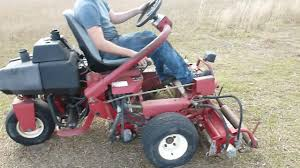 toro 3100 greensmaster mower 1994 w 3159hours parting out youtube