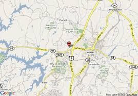 map of hton inn raleigh town of forest forest