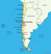 World Map With Cities Chile Map Blank Political Chile Map With Cities