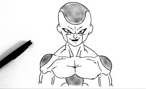 draw freezer dragon ball