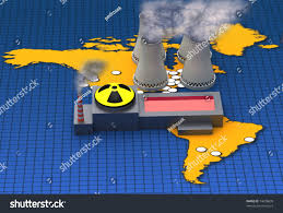 Map Of Nuclear Power Plants In Usa by Map North South America Nuclear Power Stock Illustration 74078839
