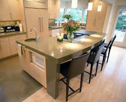 Kitchen Countertops Quartz by Kitchen Countertops Quartz Modern Dark Curved Kitchen Modern