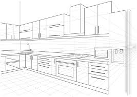Sketch Kitchen Design by Cleaning Your Kitchen Cabinets