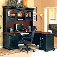 L Shaped Computer Desks With Hutch L Shaped Computer Desk With Hutch Eatsafe Co