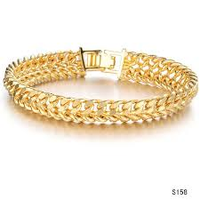 mens gold bracelet links images Fate love brand new men 39 s gold chains gold color necklace thick jpg