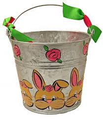 easter pails the mississippi gift company new painted easter pails