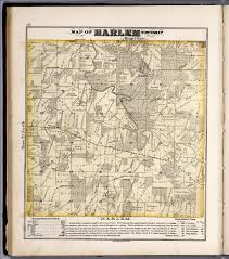 Illinois Township Map by Harlem Township Stephenson County Illinois David Rumsey