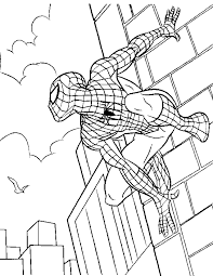 fun marvel coloring pages spiderman 4701 marvel coloring pages