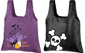 chicobag reusable trick or treat bags for halloween inhabitots