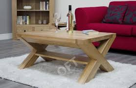 cross leg coffee table michigan solid oak furniture small cross leg coffee table ebay