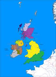 Map Of British Isles Image British Isles Subdivisions Fully Labled 209bc Romae
