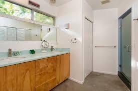 Midcentury Modern Bathroom by Franklin Hills Midcentury Modern Parson Architecture
