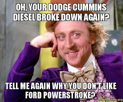Cummins Meme - 25 funny anti dodge memes that ram owners won t like