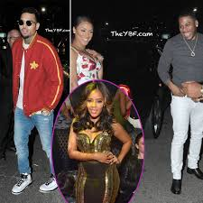 chris brown french montana nelly u0026 miss jackson dine in l a
