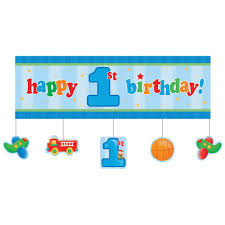 1st birthday boy boys birthday party banners birthday wikii