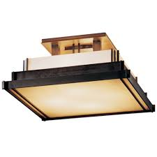 Flush Ceiling Lighting by Small Semi Flush Ceiling Light By Hubbardton Forge 123705 1004