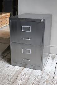 Retro Filing Cabinet Two Drawer Vintage Filing Cabinet Discoverattic