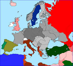 Blank Map Of Europe Before Ww2 by Otl U0027standard U0027 Maps Of Europe Page 2 Alternate History Discussion