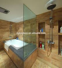 tempered glass shower wall panels tempered glass bathroom