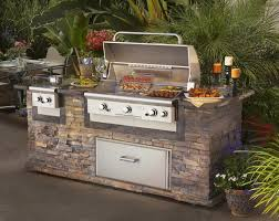 prefabricated outdoor kitchen islands kitchen awesome outdoor exterior design with rustic brown brick