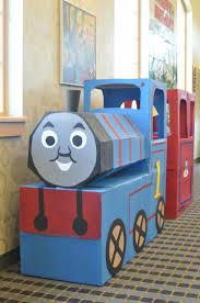 81 best train birthday party images on pinterest thomas train cardboard thomas train