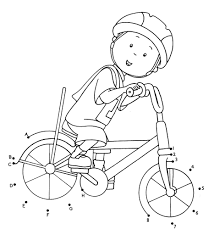 printable caillou coloring pages coloring me