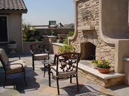 built in patio wall stone outdoor fireplaces ideas creative