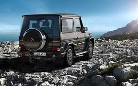 mercedes g class two door nearing end gets special edition