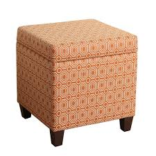 small round tufted ottoman ottoman cube ottoman homepop storage leather footstool tufted small
