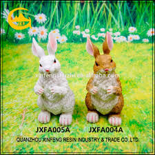 Bunny Rabbit Home Decor Resin Rabbit Statues Resin Rabbit Statues Suppliers And