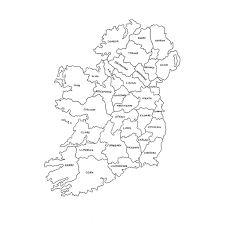 ireland map acne face map