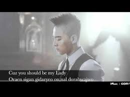 wedding dress lyric taeyang taeyang wedding dress lyrics