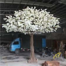 4 meters artificial white cherry tree for uk wedding dongyi