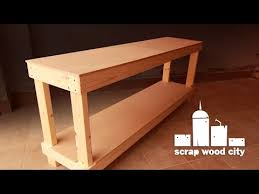 simple diy workbench youtube
