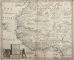 Western Africa Map by Western Africa 1741 More Old Maps U003e U003e Maps On The Web