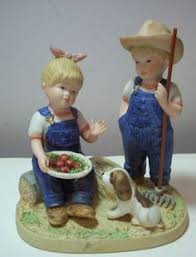home interior denim days figurines home interiors denim days danny debbie bunny hutch ebay home