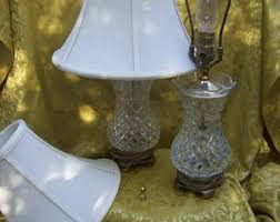 Waterford Table Lamps Vintage Waterford Crystal Lamp Etsy