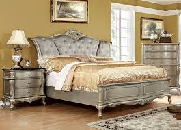 Transitional Style Furniture - laughton rustic style bedroom collection