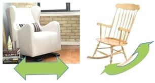 Rocking Sofa Chair Nursery Glider Vs Rocking Chair Glider Rocking Chairs Baby Room Gliders