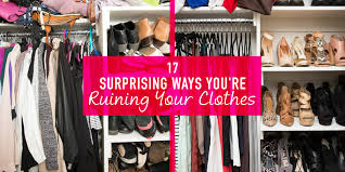 Best Place To Buy Workout Clothes 17 Surprising Ways You U0027re Ruining Your Clothes