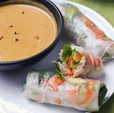 Main Dish With Sauce - how to make vietnamese spring rolls summer rolls with spicy