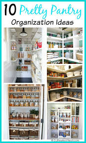 Kitchen Cupboard Organizers Ideas 10 Pretty Pantry Organization Ideas