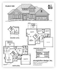 1 1 2 story floor plans straightline design inc buy plans