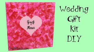 Wedding Gift Craft Ideas Craft Klatch Wedding Canvas Gift Kit Diy Art Resin