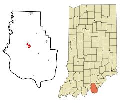Time Zone Map Indiana by Corydon Indiana Simple English Wikipedia The Free Encyclopedia