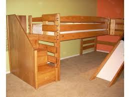 girls twin loft bed with slide u2014 modern storage twin bed design