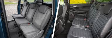 ford galaxy interior ford galaxy vs volkswagen sharan mpv comparison carwow